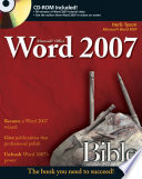 Microsoft Word 2007 Bible