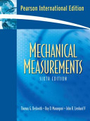 Mechanical Measurements