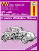 Volkswagen Beetles Owners Workshop Manual