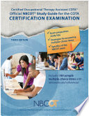 Official NBCOT   Study Guide for the COTA   Certification Examination