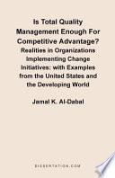Ebook Is Total Quality Management Enough for Competitive Advantage? Epub Jamal K. Al-Dabal Apps Read Mobile