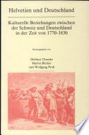 Helvetien und Deutschland
