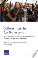 Spillover From The Conflict In Syria