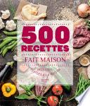 500 recettes Fait Maison
