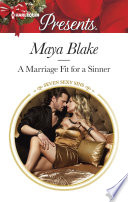 A Marriage Fit For A Sinner : with his ex-fiancée eva pennington,...