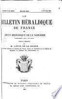 Le Bulletin héraldique de France