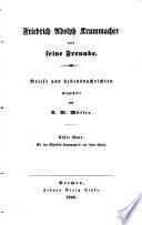 Friedrich Adolph Krummacher und seine Freunde