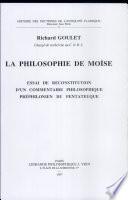 illustration La philosophie de Moïse