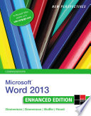 New Perspectives on Microsoft Word 2013  Comprehensive Enhanced Edition