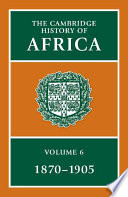 The Cambridge History of Africa Book PDF