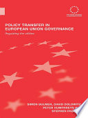 Policy Transfer in European Union Governance