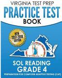 Virginia Test Prep Practice Test Book Sol Reading Grade 4