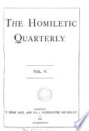 The Homiletic quarterly  afterw   magazine Book PDF