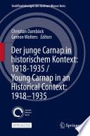 Der Junge Carnap In Historischem Kontext 1918 1935 Young Carnap In An Historical Context 1918 1935