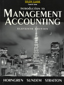 Introductory Management Accounting