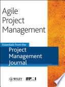 Agile Project Management : application or discipline, comes from...