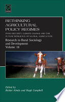 Rethinking Agricultural Policy Regimes