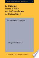 La Divine Consolation par Marguerite Chappuis