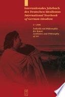 Ästhetik und Philosophie der Kunst / Aesthetics and Philosophy of Art