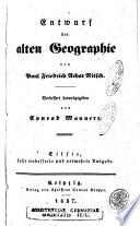 Entwurf der alten Geographie /von Paul Friedrich Achat Nitsch