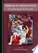 Ekphrasis In American Poetry book