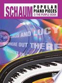 John W Schaum Popular Piano Pieces C The Purple Book
