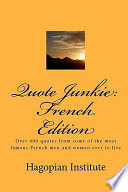 Quote Junkie  French