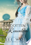 Forgotten   Remembered