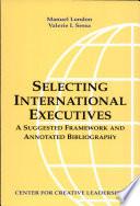Selecting International Executives