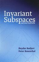 Invariant Subspaces