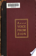 A Voice from Zion Book PDF