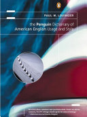 The Penguin Dictionary of American English Usage and Style, Lovinger, 2000
