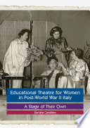 Educational Theatre for Women in Post World War II Italy