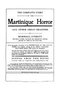 The Complete Story of the Martinique Horror and Other Great Disasters