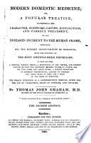 Modern domestic medicine     The fourth edition