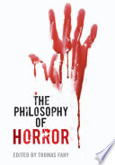 The Philosophy Of Horror book