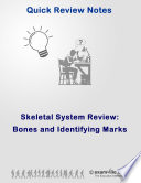 Human Skeletal System Review: Bones and Identifying Marks