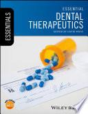 Essential Dental Therapeutics book