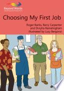 Choosing My First Job