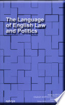 illustration The Language of English Law and Politics