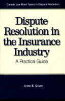 Dispute Resolution in the Insurance Industry