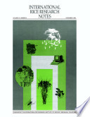 International Rice Research Notes Vol 18 No 4