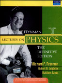The Feynman Lectures On Physics, The Definitive Edition Volume 1, 2/E