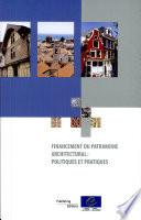 Financement du patrimoine architectural