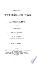Precedents and Forms in Conveyancing