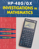 Hp 48g Gx Investigations In Mathematics