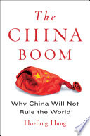 The China Boom : yet, much like other developing...