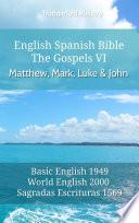 English Spanish Bible The Gospels Vi Matthew Mark Luke And John