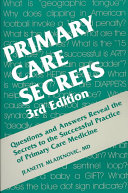 Primary Care Secrets