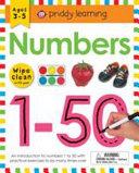 Wipe Clean Workbook  Numbers 1   50
